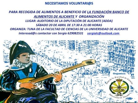 Voluntarios para Certamen en Alicante